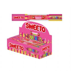 Sweeto Sour Belts Stawberry 8g